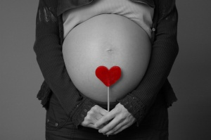 Mujer-embarazada