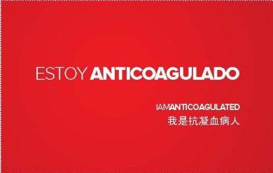"""Arranca en las farmacias de Zaragoza la segunda edición de la campaña """"Estoy anticoagulado"""""""
