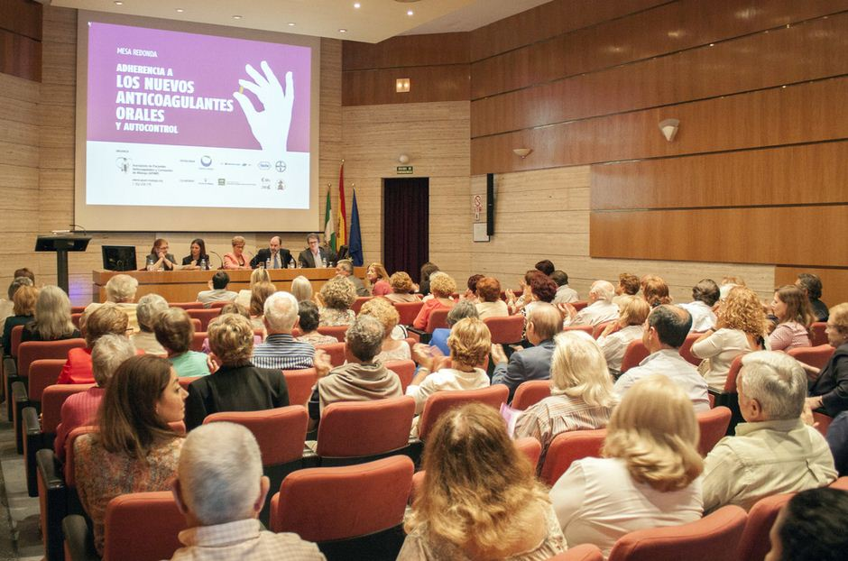 Foto de Sala del evento anticoagulantes y autocontrol